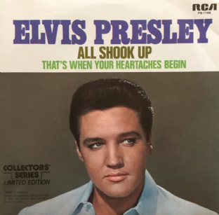 "Elvis Presley With The Jordanaires - All Shook Up (7"") (EX+/EX-)"